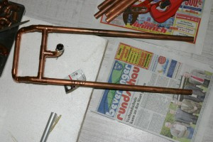 Kupfer Bügel Kompressor