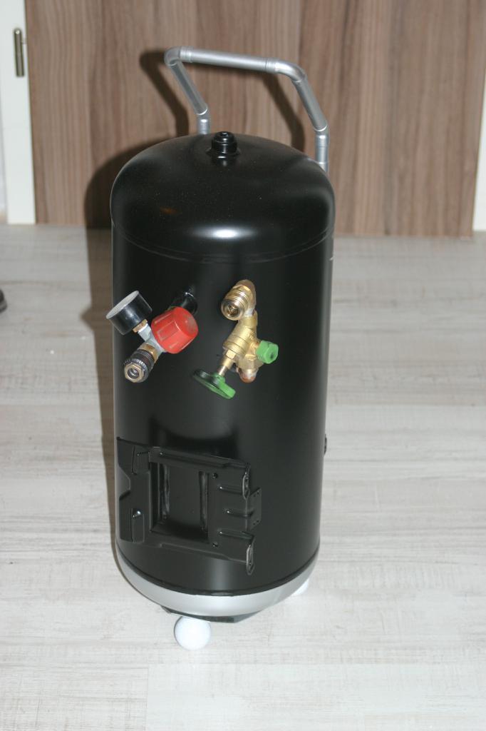 Zusatz Druckbehälter Kompressor