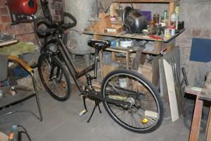 Fahrrad Stahl Rahmen Eigenbau