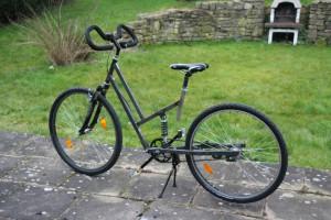 Fahrrad Rahmen Stahl Eigenbau DIY
