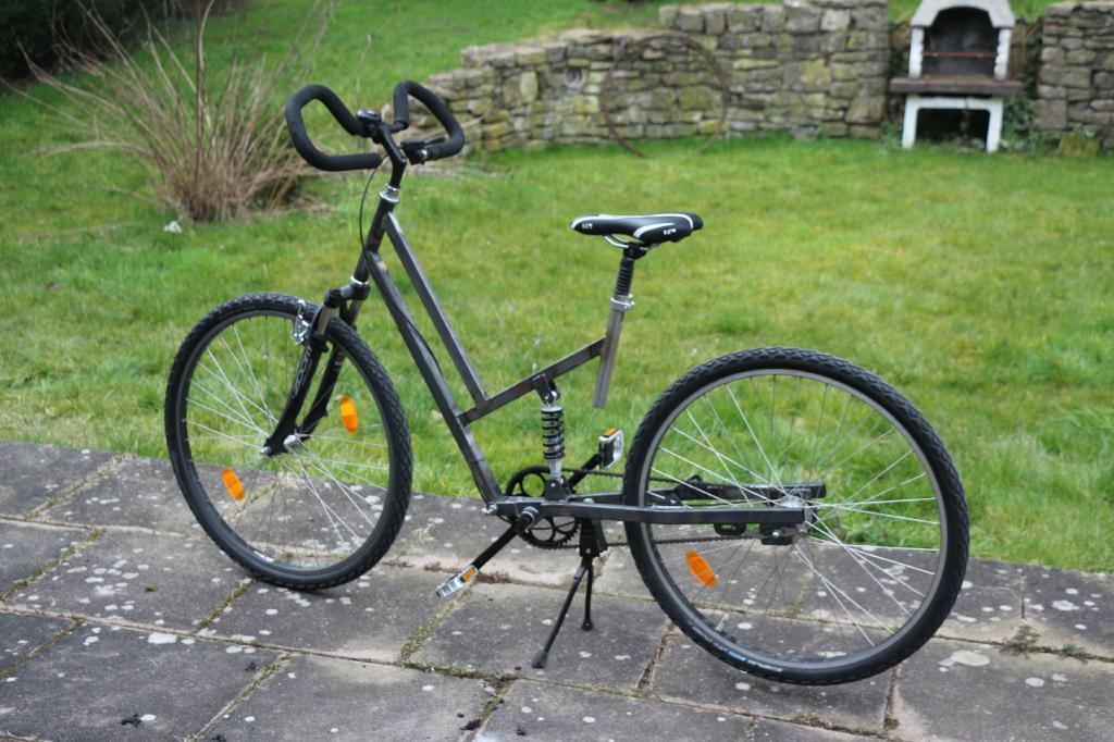 Fantastisch Edelstahl Fahrradrahmen Bilder - Benutzerdefinierte ...