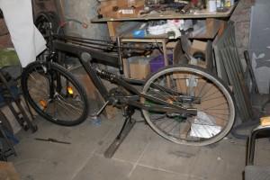 Fahrrad Stahl Rahmen Eigenbau DIY v3.0 Stahl