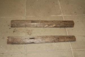 Kerzenhalter Holz Leiter Kerze Rohmaterial