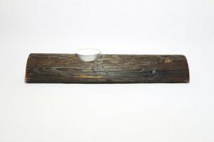 Kerzenhalter Holz Leiter Kerze Vorderansicht