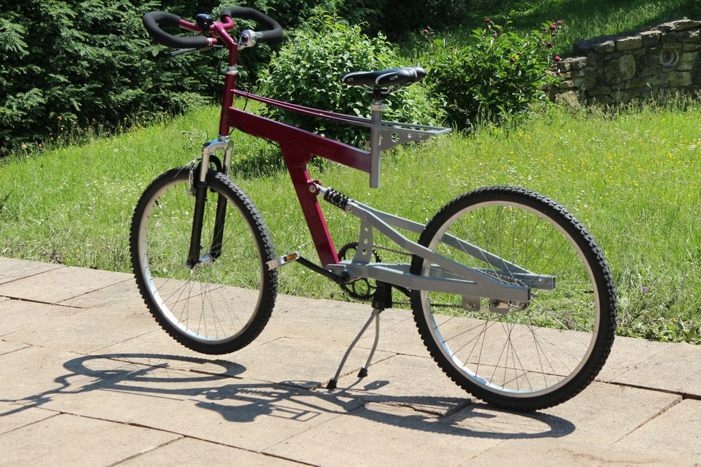 Fahrrad Stahl Rahmen Eigenbau DIY v3.0 Stahlrahmen
