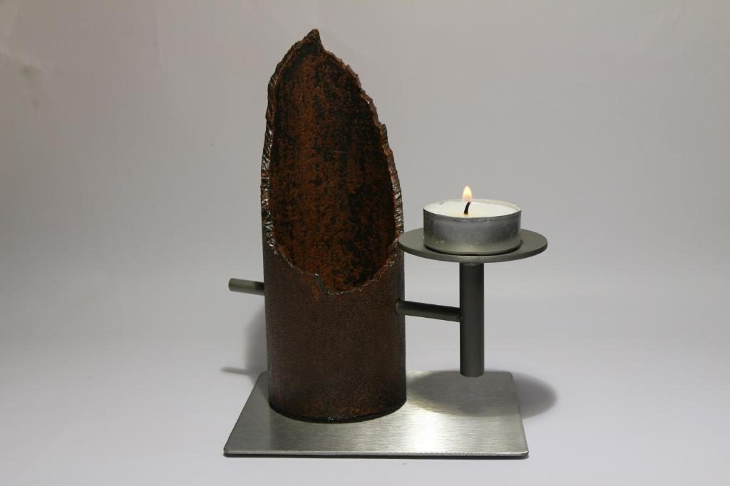 Stahl Kerzenhalter Teelichthalter Deko 2016_06_23_IMG_5589