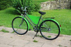 Fahrrad Werberad Werbefahrrad Retro